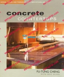 Concrete Countertops DIY featuring Fu Tung Cheng