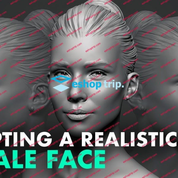 Flippednormals Sculpting a Realistic Female Face in Zbrush