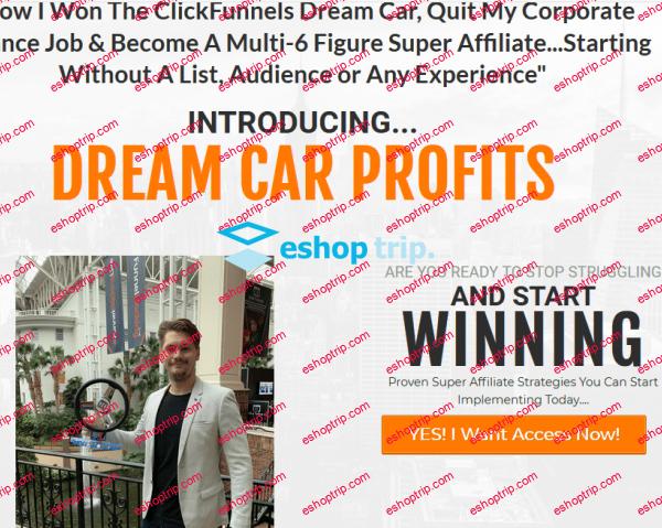 Jacob Caris – Dream Car Profits