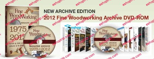 2012 Fine Woodworking Archive DVD ROM 1975 2012