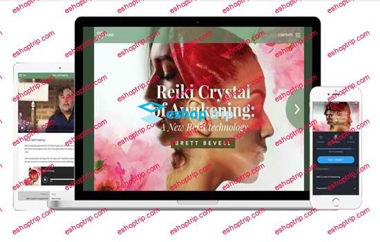 Brett Bevell Reiki Crystal of Awakening
