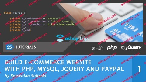Build ECommerce Website With PHP MySQL JQuery and PayPal