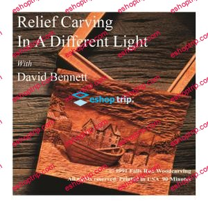 David Bennett Relief Carving in a Different Light