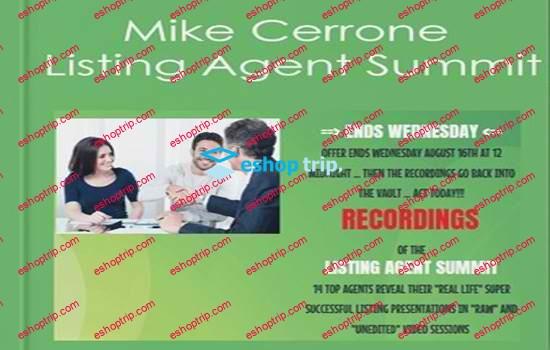 Mike Cerrone Listing Agent Summit
