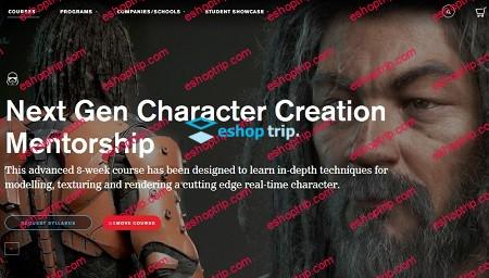 Adam Skutt CGMA Next Gen Character Creation Mentorship 2019