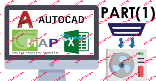HVAC PART1 with HAP Excel AutoCAD Manual Calculations