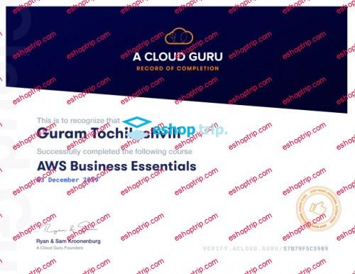 A Cloud Guru AWS Business Essentials