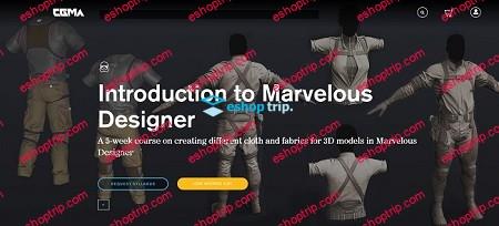 CGMA Introduction to Marvelous Designer