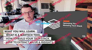 ConversionXL Dan McGaw Optimizing Your Marketing Tech Stack
