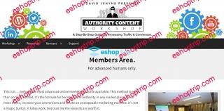 David Jenyns Seo Method 4 Authority Content