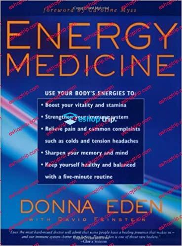 Donna Eden New Energy Medicine