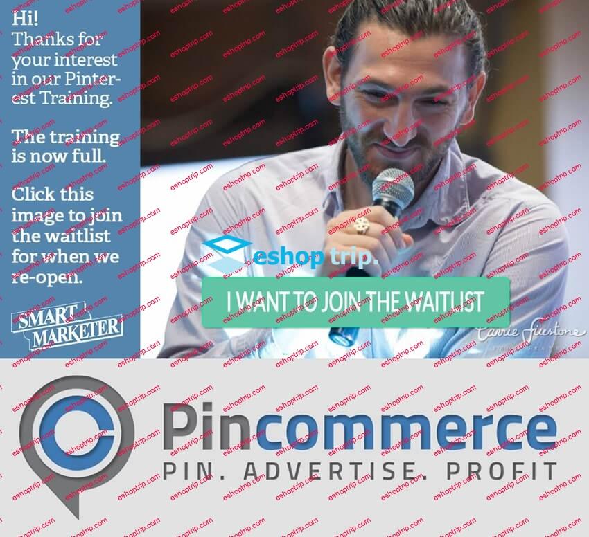 Ezra Firestone PinCommerce Course