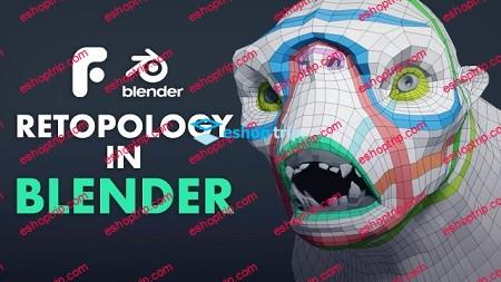 FlippedNormals Retopology in Blender 2.8