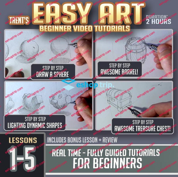 Gumroad Easy Art Lessons 1 20