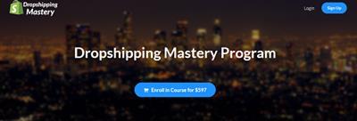 Justin Painter Dropshipping Mastery Program 2019