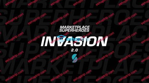 Marketplace Superheroes Invasion 2.0