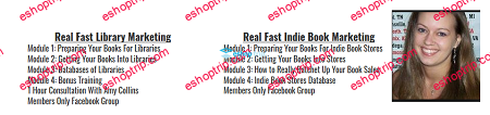 Melissa Burch Real Fast Library Indie Book Marketing