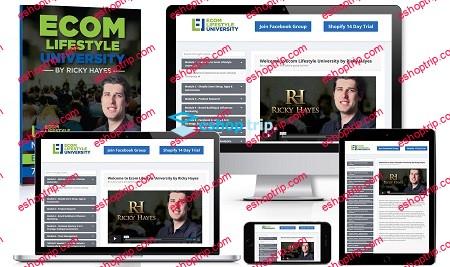 Ricky Hayes Ecom Lifestyle University
