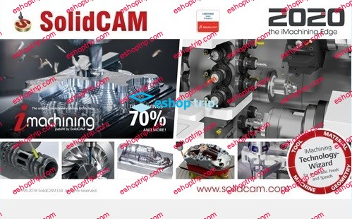 SolidCAM 2020 Documents and Training Materials 04.2020