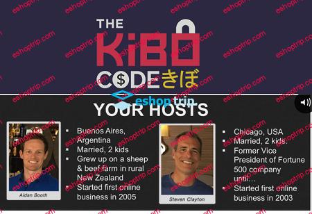 Steven Clayton Aidan Booth The Kibo Code