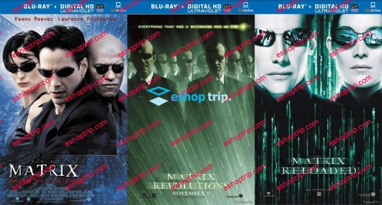 The Matrix Trilogy 1080p BluRay H264 AC3 DD5.1
