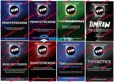 Timothy Sykes Trading Strategy Full Course 8 DVDs