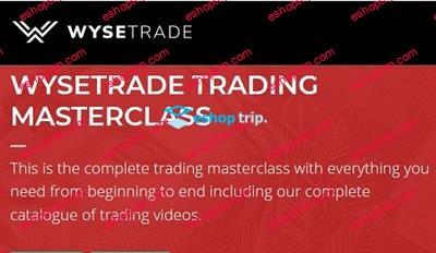 WyseTrade Trading Masterclass Course Bitify