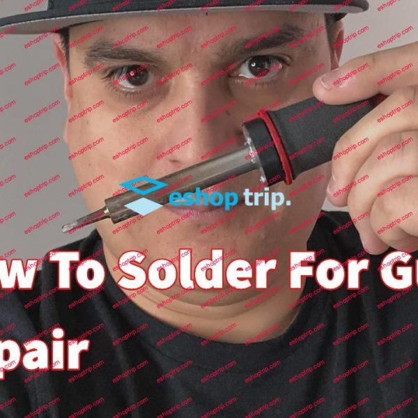 How To Solder For Guitar Repair