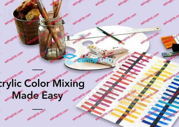 Mybluprint Acrylic Color Mixing Made Easy