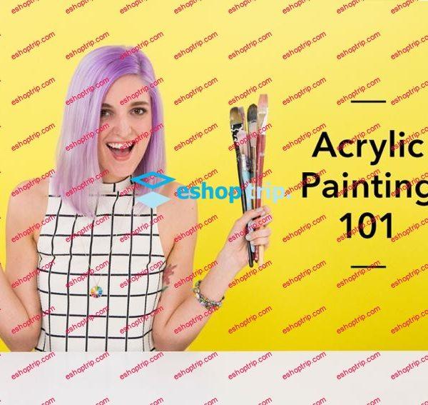 Mybluprint Acrylic Painting 101