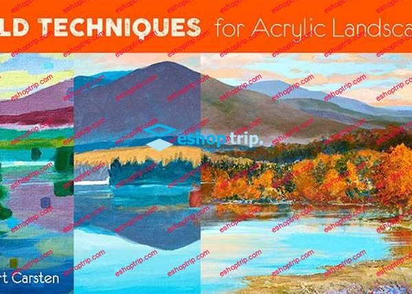 Mybluprint Bold Techniques for Acrylic Landscapes