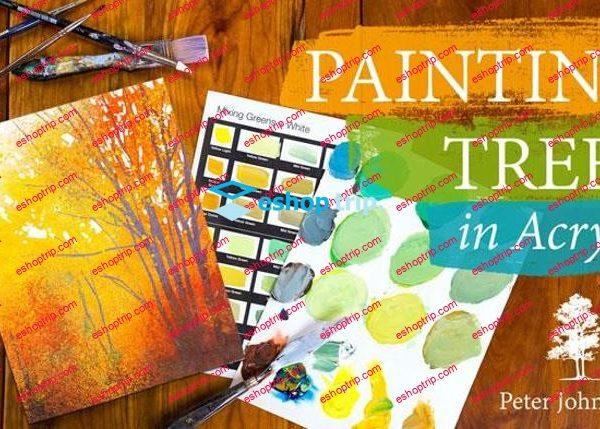 Mybluprint Painting Trees in Acrylic
