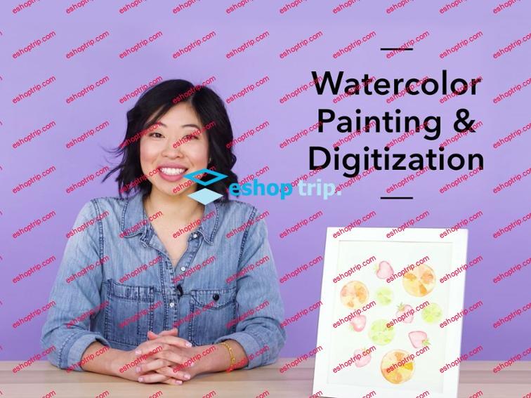 Mybluprint Watercolor Painting and Digitization