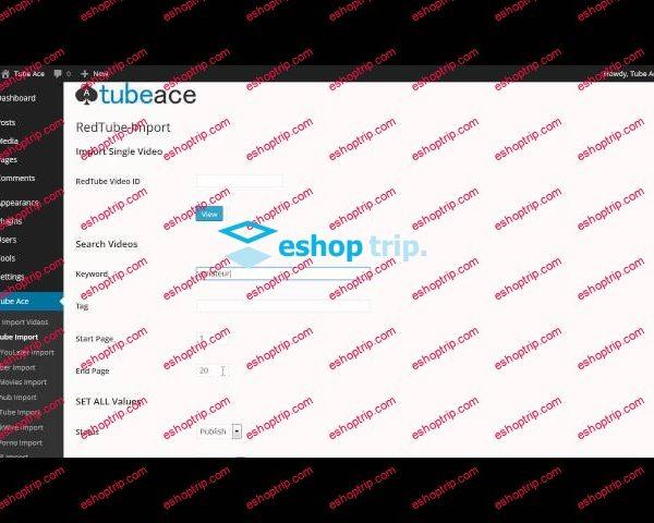 Tube Ace Adult Video Tube for WordPress