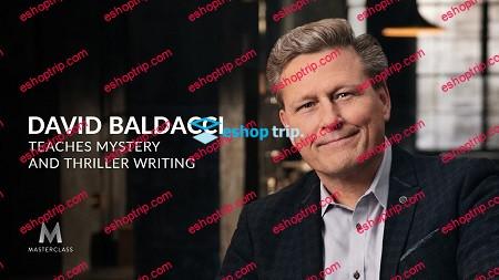 Masterclass David Baldacci Teaches Mystery Thriller Writing