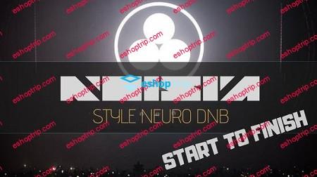 Noisia Style Neuro Drum Bass Start to Finish