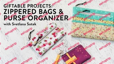 Giftable Projects Zippered Bags Purse Organizer