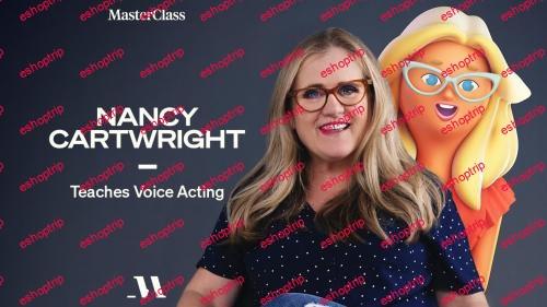 MasterClass Nancy Cartwright Teaches Voice Acting