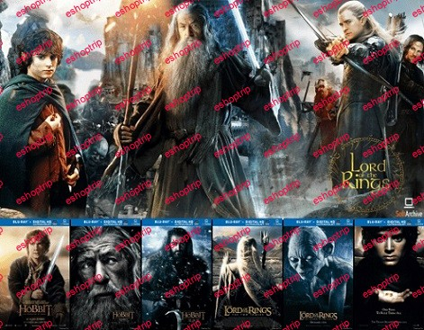The Hobbit And Lord Of The Rings Extended Cut Collection