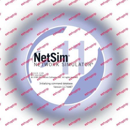 Boson NetSim Network Simulator 11.7.6487.20622