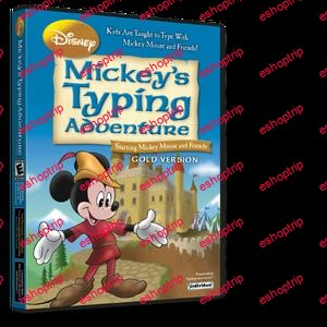 Disney Mickeys Typing Adventure Gold 1.0