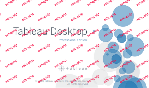 Tableau Desktop Professional Edition 2020.1.2