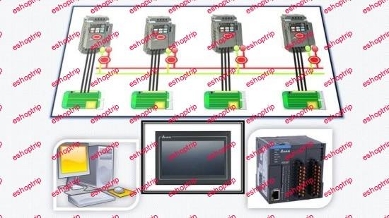 Delta VFD Real Applications With Plc Modbus HMI VFDSoft