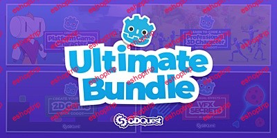 GDQuest Ultimate Godot bundle all courses