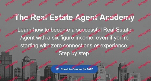Graham Stephan The Real Estate Agent Academy