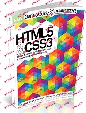 HTML 5 CSS3 Genius Guide Volume 3