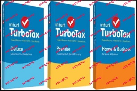 Intuit TurboTax 2020 Home Business Premier Deluxe