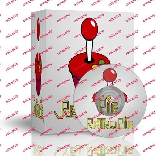 RetroPie 4.4.9 Raspberry Pi 1000 games Nintendo Sega Dreamcast PS1 PSP Arcade ScummVM Spectrum