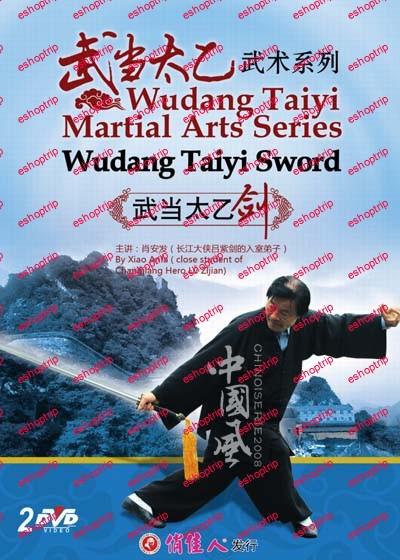 DW199 01 Wudang Taiyi Martial Arts Series Wudang Taiyi Sword by Xiao Anfa