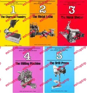 David J. Gingery Build Your Own Metal Working Shop From Scrap 5 Volume Set